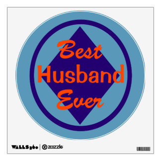 Best Husband Ever Wall Decal