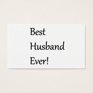Best Husband Every Business Card