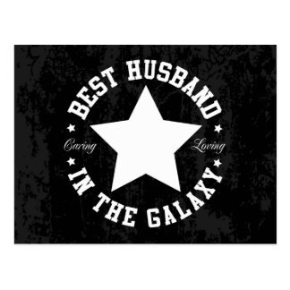 Best Husband In The Galaxy Postcard