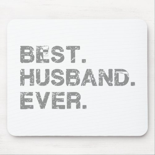 BEST_HUSBAND MOUSE PAD