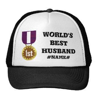 Best Husband Personalized Trucker Hat