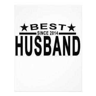 Best HUSBAND Since 2014 Tshirt '.png Letterhead