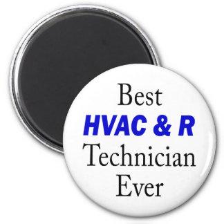 Best HVAC & R Technician Ever 2 Inch Round Magnet