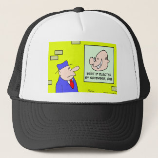 best if elected by november 2012 trucker hat