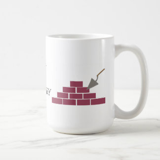 Best in Masonry and Brick Laying Coffee Mug