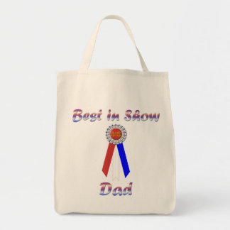 Best In Show Dad (Rosette) Tote Bag