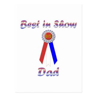 Best In Show Dad (Rosette) Postcard