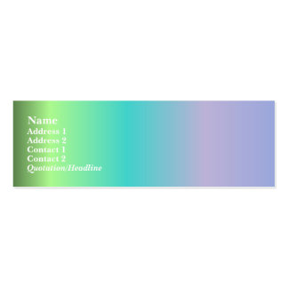 Best in Show Profile Card Double-Sided Mini Business Cards (Pack Of 20)