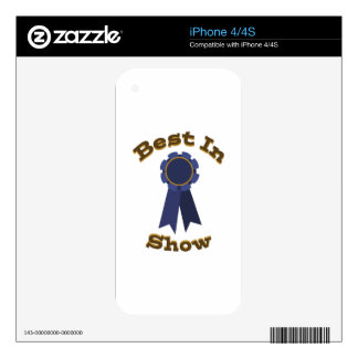 Best in Show Skin For The iPhone 4S