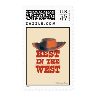 Best in the West Postage Stamp