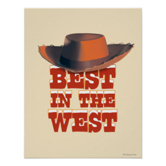 Best in the West Print