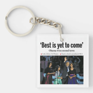 'Best is Yet to Come': Obama 2012 Keychain