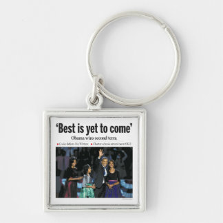 Best is Yet to Come: Obama Premium Keychain