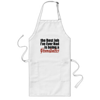 Best Job is Being a Grandfather Long Apron