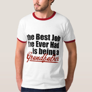 Best Job is Being a Grandfather Tee Shirt