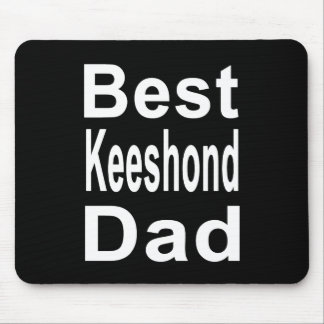 Best Keeshond Dad Mouse Pad