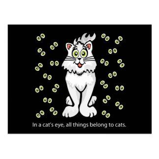 Best Kitty Kat Postcard