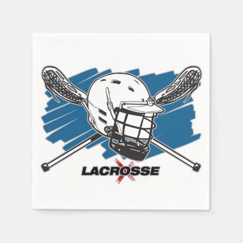 Best Lacrosse Paper Napkin