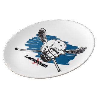 Best Lacrosse Porcelain Plate