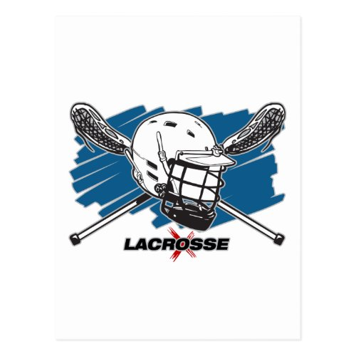 Best Lacrosse Postcard