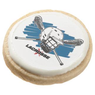 Best Lacrosse Round Shortbread Cookie