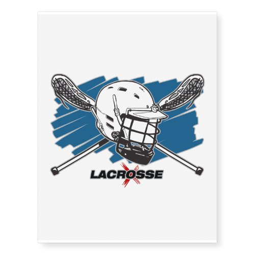 Best Lacrosse Temporary Tattoos