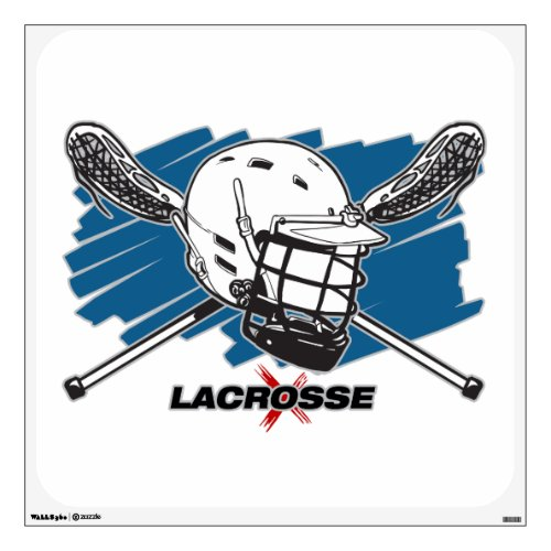 Best Lacrosse Wall Sticker