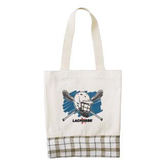 Best Lacrosse Zazzle HEART Tote Bag