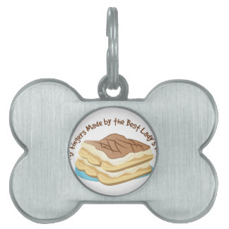 Best Lady Fingers Pet Name Tag