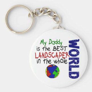 Best Landscaper In World 2 (Daddy) Keychain
