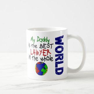 Best Lawyer In World 2 (Daddy) Classic White Coffee Mug