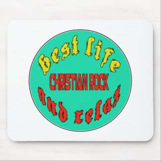 Best Life Christian Rock Mouse Pad