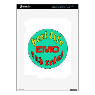 Best Life Emo iPad 3 Decals