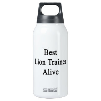 Best Lion Trainer Alive SIGG Thermo 0.3L Insulated Bottle