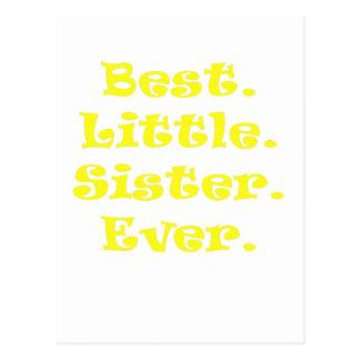 Best Little Sister Ever Postcard