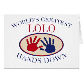 Best Lolo Hands Down Card
