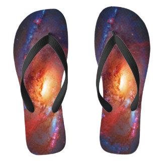 Best-looking Spiral Galaxy, M106 - Canes Venatici Flip Flops