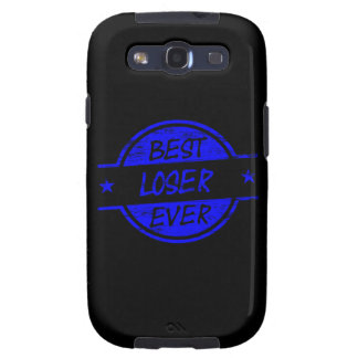 Best Loser Ever Blue Galaxy SIII Covers