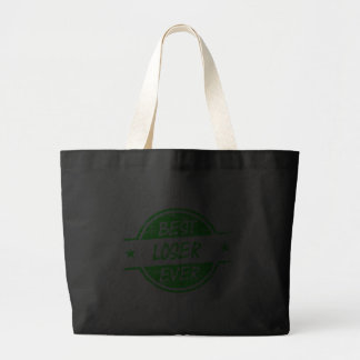 Best Loser Ever Green Tote Bags