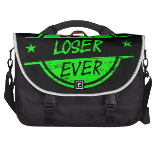 Best Loser Ever Green Laptop Bags
