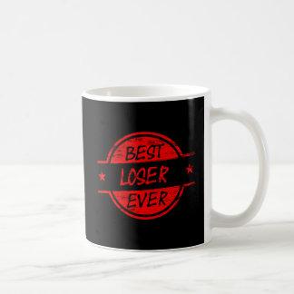 Best Loser Ever Red Coffee Mug