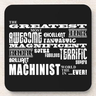 Best Machinists : Greatest Machinist Beverage Coaster