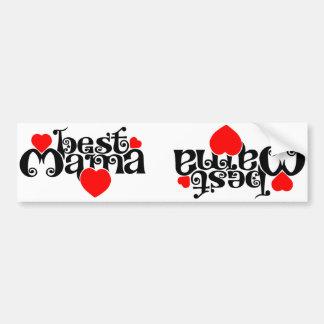 Best Mama Bumper Sticker