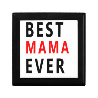 Best Mama Ever(3) Jewelry Box