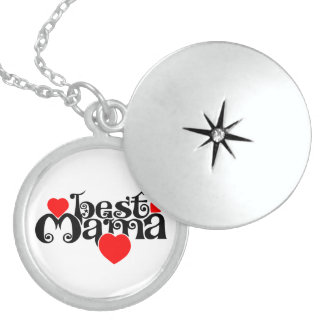 Best Mama Locket Necklace