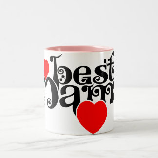 Best Mama Two-Tone Coffee Mug