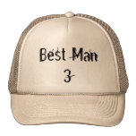 Best Man 1 2 3 4  Hat Trucker Hat