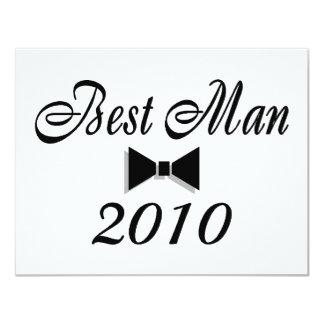 Best Man 2010 (Bowtie) Card