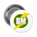 Best Man B/M Pinback Button
