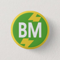 Best Man Badge Button